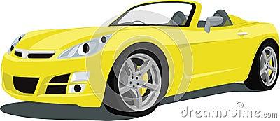 Saturn Sky Sports Car