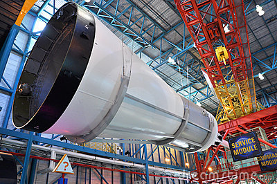 Saturn V Rocket stage III Editorial Stock Photo