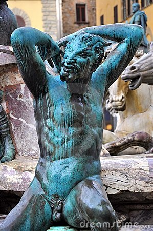 Satyr Statue In Florence Italy Stock Images Image 15638994