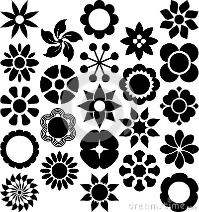 Satz ized Blumen