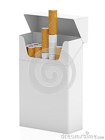 Satz Zigaretten