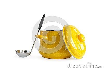 Saucepan And Ladle