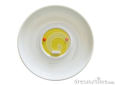 Saucer pills