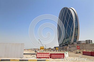 Saucer Shaped Building, Abu Dhabi, UAE