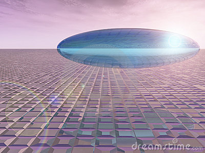 Saucer on the Venon Grid