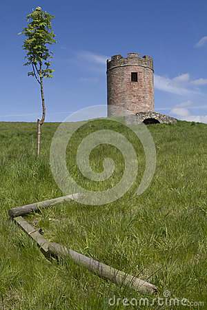 Free Sauchie Tower, Scotland Royalty Free Stock Images - 25158069