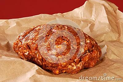 Saucisse de proc de Choriso frais meulée