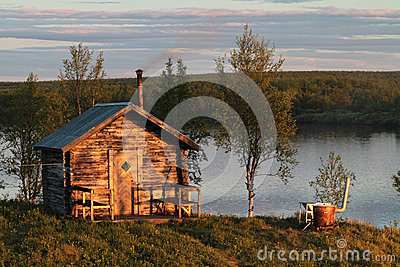 sauna ext rieur photo stock image 25627330. Black Bedroom Furniture Sets. Home Design Ideas