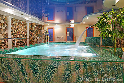 Sauna Pool Stock Images - Image: 1894304