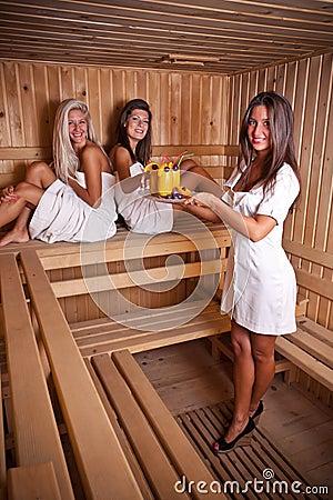 Sauna serve