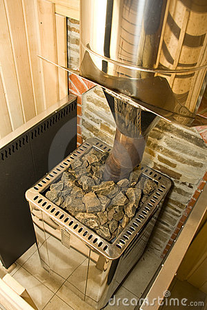 Free Sauna Stove Royalty Free Stock Photo - 14241175