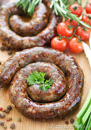 Free Sausage Royalty Free Stock Photo - 13703125