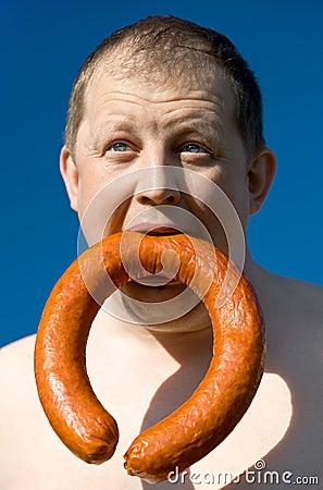Free Sausage Royalty Free Stock Image - 9261926