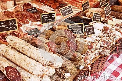 Sausage in Aix en Provence