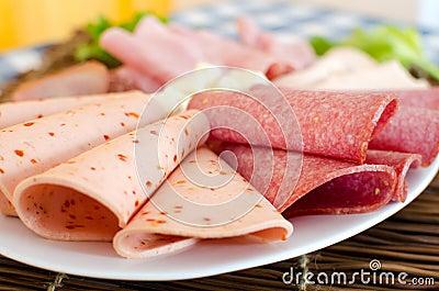Sausage plate