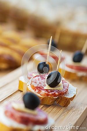 Free Sausage Sandwiches, Cheese Stock Photo - 23872290