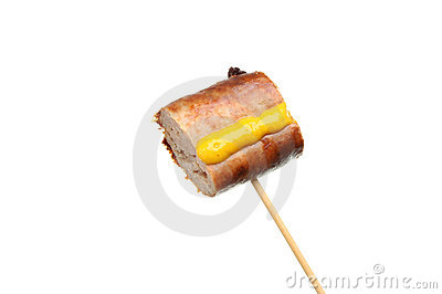 Sausage on a stick