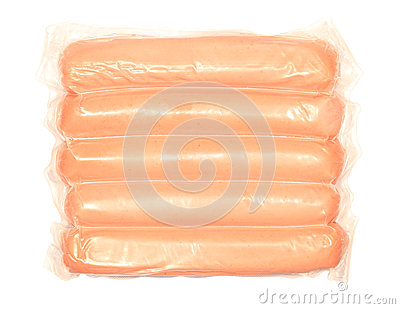 Sausages in a Plastic Package