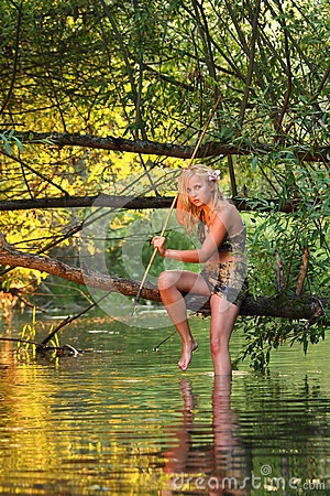 Free Savage Girl Stock Images - 26721634