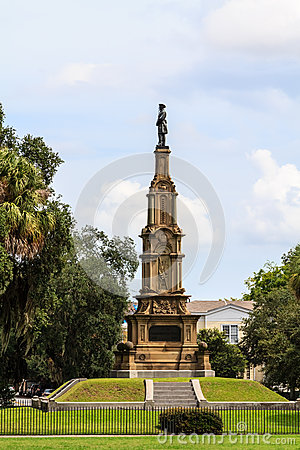 Savannah confederate memorial