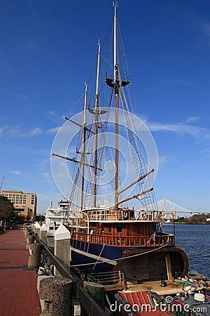 Savannah Georgia Docks