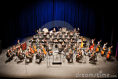 Savaria Symphonic Orchestra performs Editorial Photo