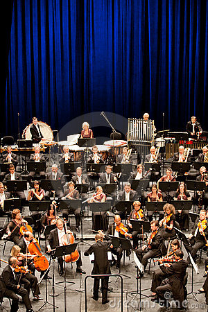 Savaria Symphonic Orchestra performs Editorial Photography