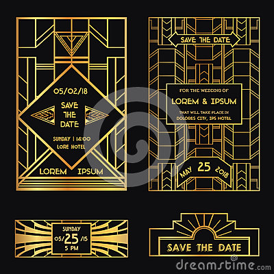 Save the Date - Wedding Invitation Card