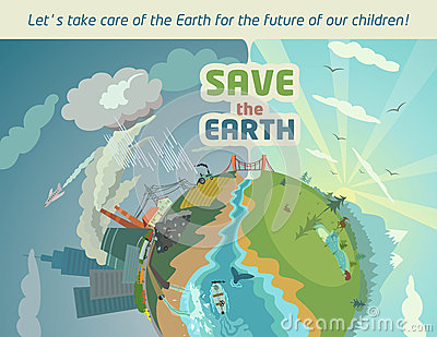 Save the Earth for the future of our children