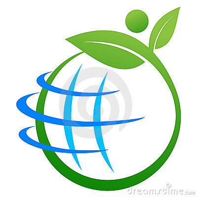 Free Save Earth Logo Stock Photography - 22814362