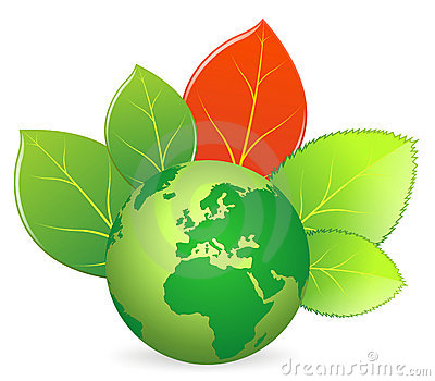 Save the earth - vector