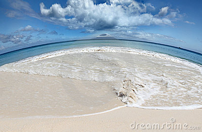 Save Earths Beaches global warming concept