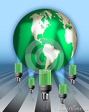 Save Energy Illustration