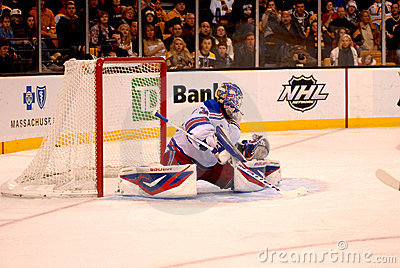 Save Henrik Lundqvist New York Rangers. Editorial Stock Photo