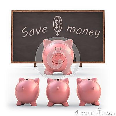 Free Save Money Stock Photography - 34957082