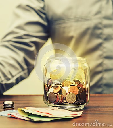 Free Save Money For Retirement For Finance Business Concept Royalty Free Stock Image - 99534516