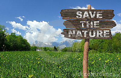Save the nature!
