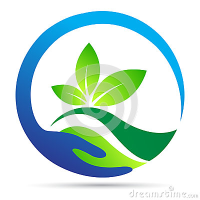 Free Save Nature Logo Leaf Wellness Earth Ecology Plant Green Symbol Vector Icon Design. Stock Image - 99117151