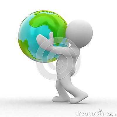 Free Save Planet Royalty Free Stock Photos - 6623278
