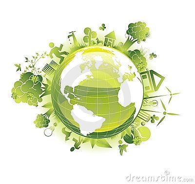 Save the planet ecology concept