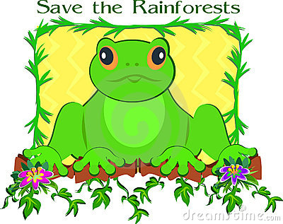 Save the Rainforest Frog