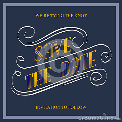 Free Save The Date Royalty Free Stock Image - 55023966