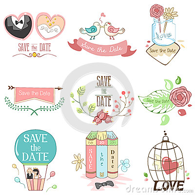 Free Save The Date For Wedding Stock Photos - 38503253
