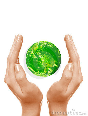Free Save The Green Planet Stock Photo - 4763250
