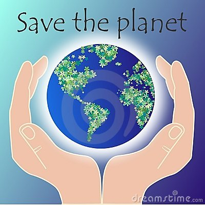 Free Save The Planet Stock Photography - 18942922