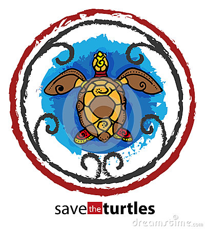 Free Save The Turtles Stock Photography - 55579742