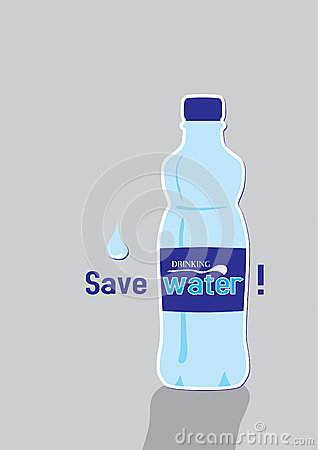 Save water - poster