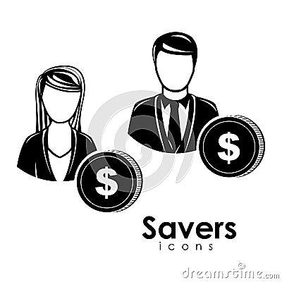 Saver icons