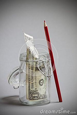 Saving dollar