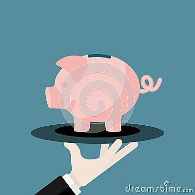 Saving money illustration essay